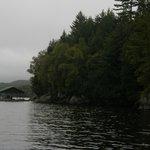 around lake