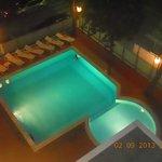 foto dal balcone del 4° piano