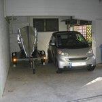 Garage im Hinterhof