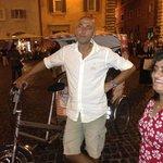 bike rickshaw driver Alexander