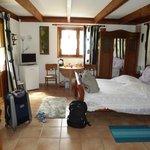 Chambre spacieuse avec mezzanine