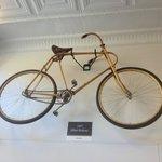 One-piece bent hickory frame!