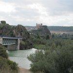 Vista del pueblo de Cofrentes