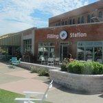 Larkin Filling Station in Larkin Square, Buffalo, NY