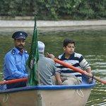 Boating at Zoo
