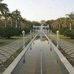 View of Mughal Garden