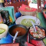 Delicious complimentary tortillas