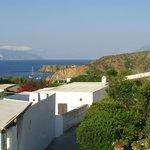 vista dalla terrazza su drauth