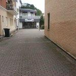 Hinterhof zum Parkplatz