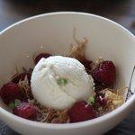 crème glacé camomille