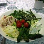 Assiette de legumes