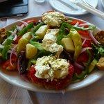 Cretan Salad was my favorite.