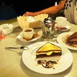 "The ""Pyramid"" and ""Mascarpone Choco cake"""