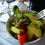 Avo salad was exceptional