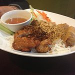 Vermicelli, Chicken, Fried Roll