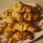 new this season...hot homemade croissants