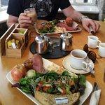 the delicious fresh Dorset Farmer Beef Salad