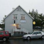 Kaffi Krus at Selfoss...good to have a dinner...