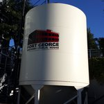 Watch for this fermentation tank from the street.l