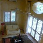 Sala integrada ao quarto