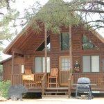 Bear Paw cabin at Mogollon Resort Cabins