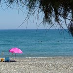 The beach 5 mins away