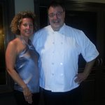 Delighted to have a photo with Chef Conrad