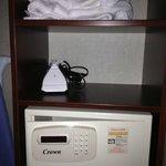 Bathrobe, Iron, Room Safe