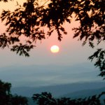 September Sunrise at the Hike Inn