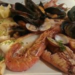 grill seafood of Nuria