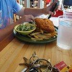Alex's dish...fried haddock platter!