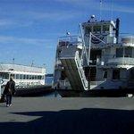 The tourist boat docks @ Alexandria Bay, N.Y.