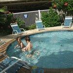 Seascape kiddie pool