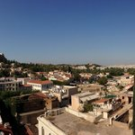 Awesome view of Athens from roof lounge