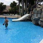 la piscina or the pool