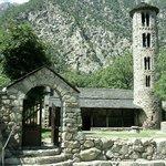 Santa Coloma Church, Andorra La vella, Principality of Andorra