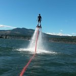 Flyboarding at Hood River