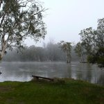 Another view of early mornign mists on the rRiver Murray