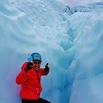 delicious glacier water