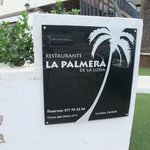 La Palmera, icono del restaurante