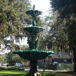 Fountain on the tour