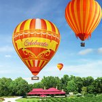Hot Air Balloon flight WITH Vineyard Champagne breakfast at O'Reillys Canungra Valley Vineyards