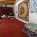 Aufenthaltsraum des home stay in Margheb