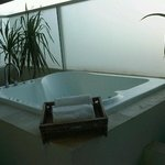 Jacuzzi in the Suite Room