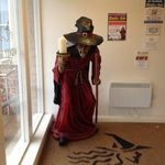 wookey witch in entrance