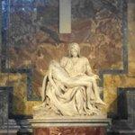 Michelangelo's Pietà, in the Basilica