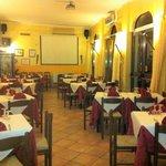 Sala ristorante con karaoke