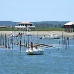 the cabans on stilts, Arcachon bay