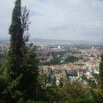 Vistas de Granada desde el mirador