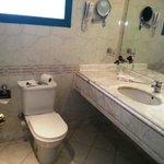 bath room-bath-tube-hair dryer-shower-hot water